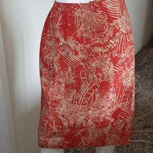 Wrap Silk skirt by nygard